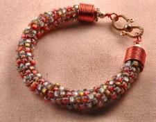 Peyote Tubular Bracelet